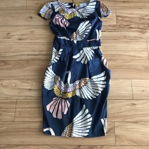 Closet/ ASOS crane midi dress US2/UK6